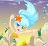 Polly Pocket Mermaid World Dress Up