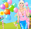 Pink Candy Girl Dress Up