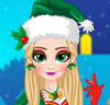 Glitter Christmas Elf Makeover