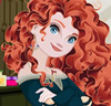 Princess Merida Spa Facial Makeover